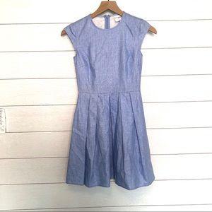 ASOS Petite Dress in Chambray Linen